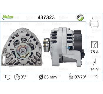 Alternateur VALEO 437323