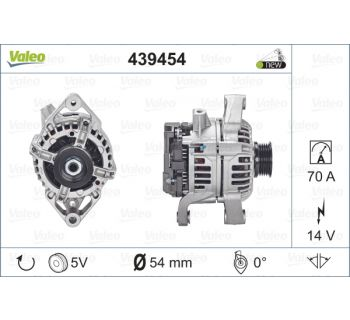 Alternateur VALEO 439454